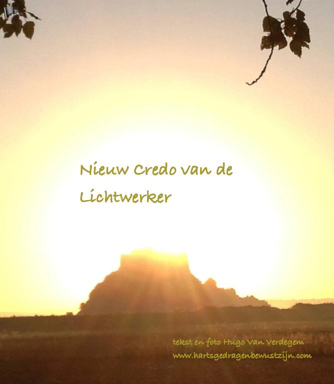 Nieuw Credo van de Lichtwerker