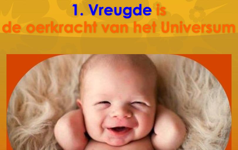 10 Vreugdetips van Energie & Levenscoach Hugo Van Verdegem - Gratis voor jou te downloaden