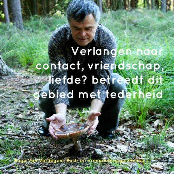 Verlangen naar contact, aanraking, tederheid.